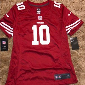 Nike 49ers Jimmy Garoppolo #10 - Woman's- M